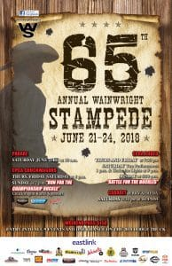 65th Annual Wainwright Stampede @ Stampede Grounds - 1st Avenue   Wainwright   Alberta   Canada