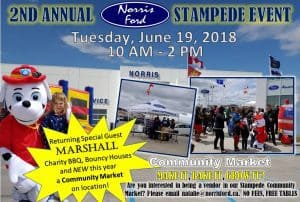 Stampede BBQ Lunch @ Norris Ford   Wainwright   Alberta   Canada