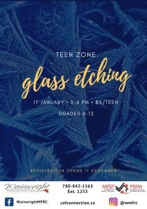 Glass Etching for Teens
