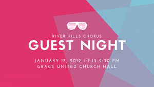 Guest Night--River Hills Chorus @ Grace United Church Hall | Wainwright | Alberta | Canada