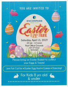 Easter Egg Hunt Hosted by Encompass Credit Union @ Post Office Grounds   Wainwright   Alberta   Canada