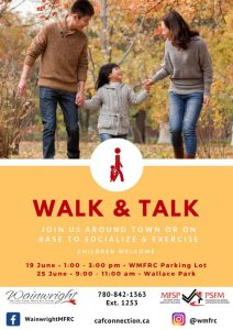 Walk & Talk @ Wallace Park | Wainwright | Alberta | Canada