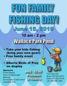 Fun Family Fishing Day @ Wallace Park Pond | Wainwright | Alberta | Canada