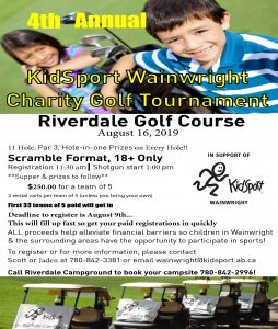 KidSport Charity Golf Tournament @ Riverdale Golf Course