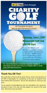 OK Tire Charity Golf Tournament @ Wainwright Golf Club | Wainwright | Alberta | Canada
