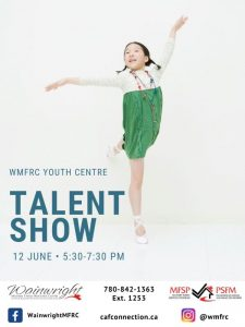 Youth Center: Talent Show @ WMFRC Youth Centre