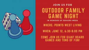 Outdoor Family Game Night @ Points West Living | Wainwright | Alberta | Canada