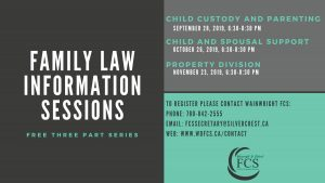 Family Law Information Sessions