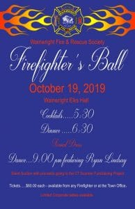Wainwright Fire & Rescue Society Firefighter's Ball @ Wainwright Elks Hall | Wainwright | Alberta | Canada