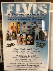 Elvis: A Tribute to the King @ Royal Canadian Legion Branch #29 | Wainwright | Alberta | Canada