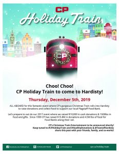CP Holiday Train @ Hardisty, Alberta
