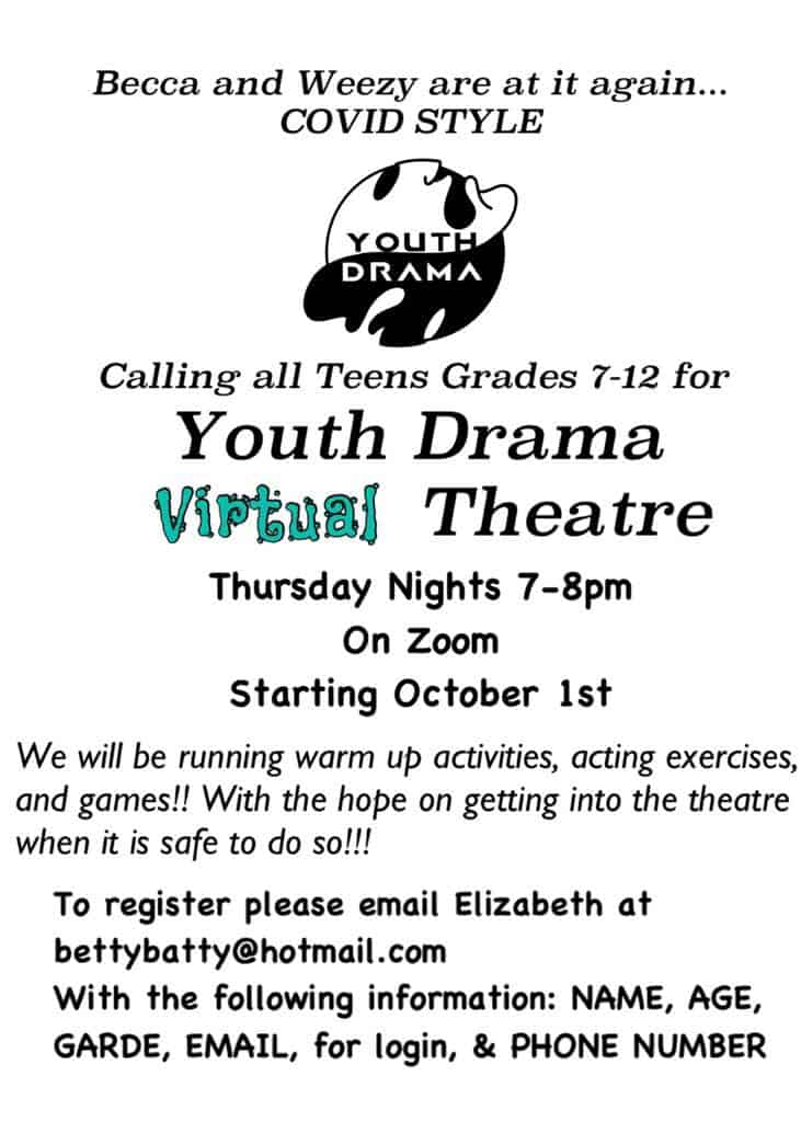 Theatre 75 Youth Drama Virtual Theatre