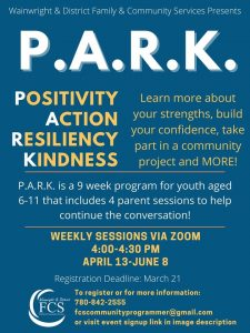P.A.R.K. - Positivity, Action, Resiliency, Kindness