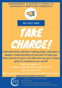 Go Out and Take Charge